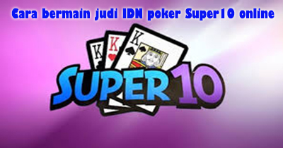 judi super10 online